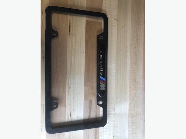 BMW M Carbon fiber plate holder