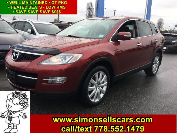 2008 MAZDA CX-9 GT - LOADED - SUPER CLEAN - LOW KMS!
