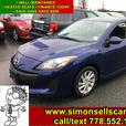 2012 MAZDA 3 GS SPORT - NICELY EQUIPPED - WELL MAINTAINED