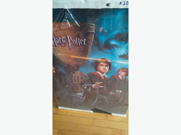 Harry Potter laminated posters