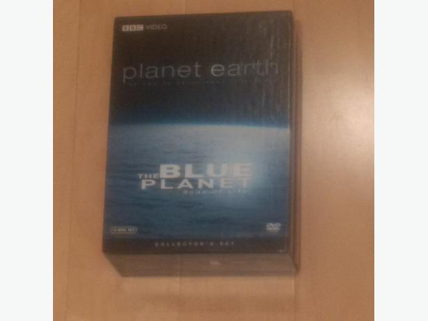 PLANET EARTH + THE BLUE PLANET - Collector's Set