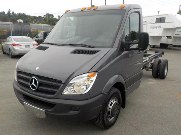 2012 Mercedes-Benz Sprinter 3500 Dually Diesel 14 Foot Cab & Chassis