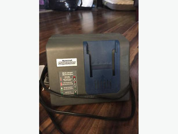 Mastercraft Multi-type battery charger for tools