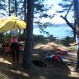 All women kayak adventures to Broken group of Islands & the Gulf Islands