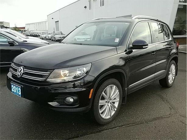 2013 Volkswagen Tiguan 2.0 TSI Highline ! BC Vehicle/ Leather / AWD