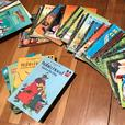 Assortment of Little Golden Books and Wonderful World of Reading Books