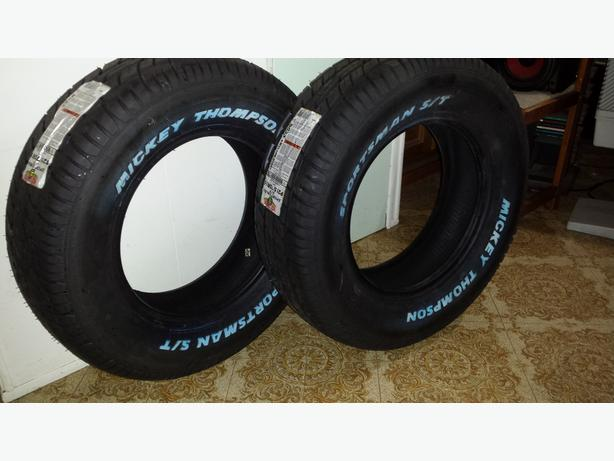 Mickey Thompson street tires