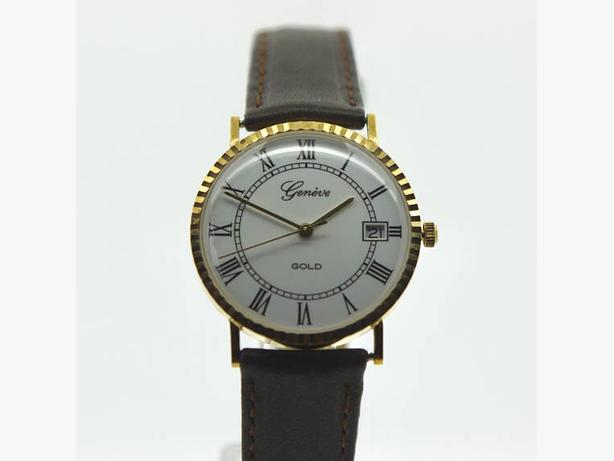 Geneve Millennium Special Edition 9kt Men's Watch