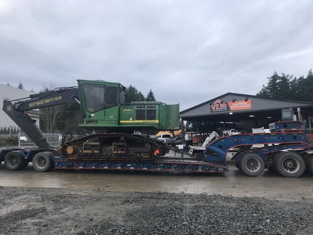 John Deere 2154D Forestry Machine