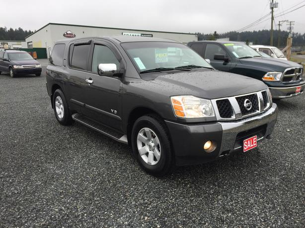 Nissan Armada Towing Capacity >> 2005 Nissan Armada Le 4wd 3rd Row Seating 9100lbs Towing Capacity