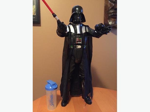 "Darth Vader (Emperor's wrath) 32"" tall collectible"