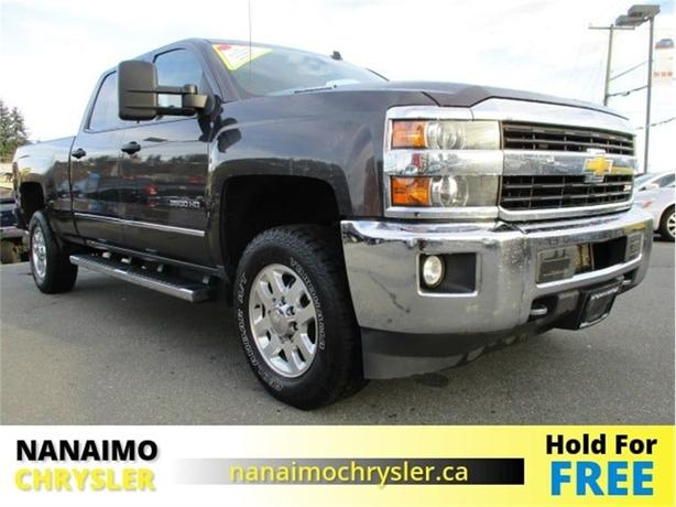 2015 Chevrolet Silverado 3500HD SLE One Owner Navigation