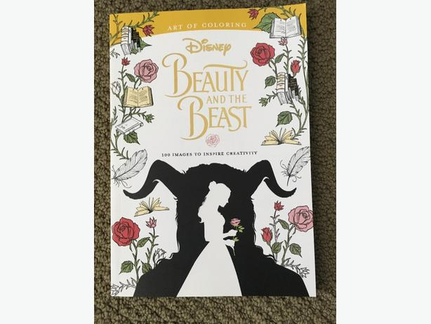 NEVER USED- Art of Colouring Beauty & the Beast