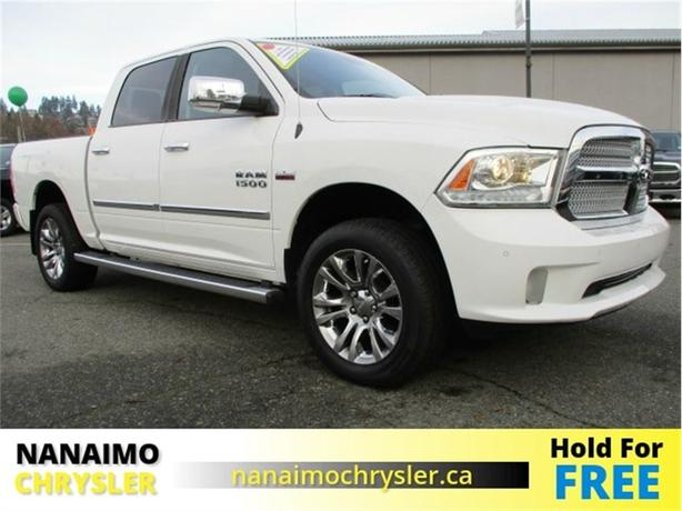 2014 Ram 1500 Laramie Limited One Owner Low Kilometers
