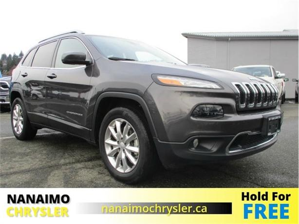 2017 Jeep Cherokee Limited One Owner No Accidents