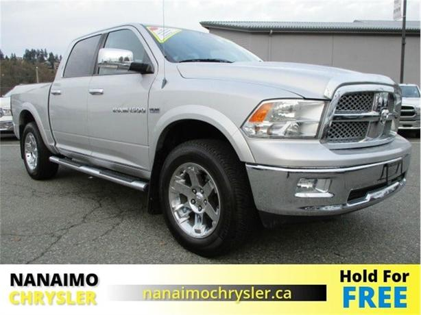 2011 Ram 1500 Laramie Low Kilometers Navigation