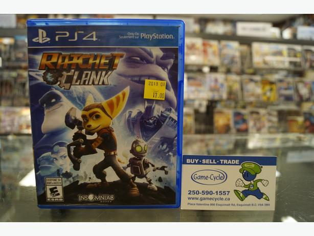 Ratchet and Clank for PS4 Available @ Game Cycle