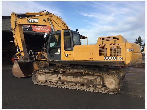 John Deere 330C LC Excavator