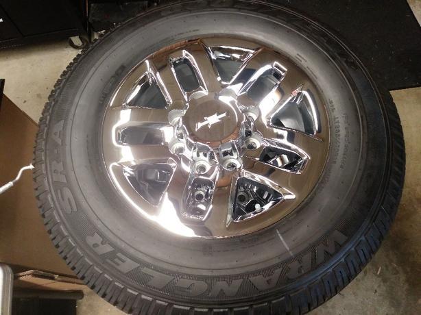 """2018 Silverado 2500/3500 18"""" rims/tires"""