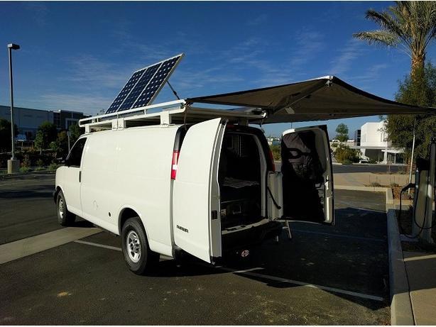 Modern camper van (3500 Savana 1 ton) AVAILABLE