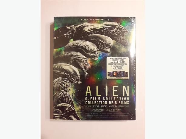 Alien: 6-Film Collection (Blu-ray + Digital HD) - Brand New
