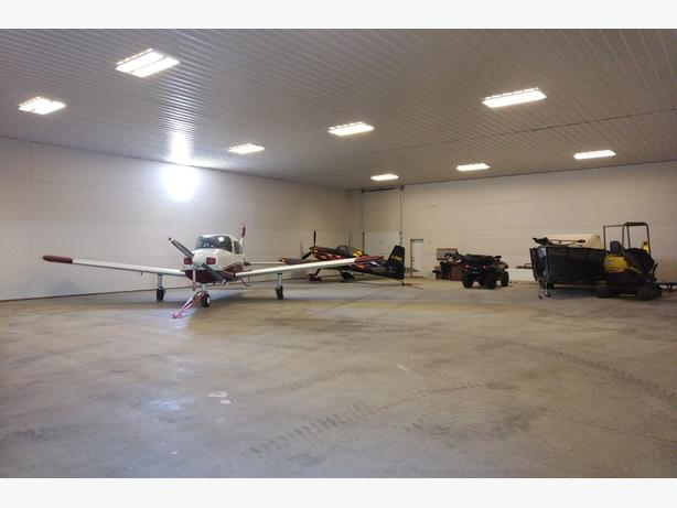 Hwy 301 North - Hangar for Sale Located in Moose Jaw Municipal Airport!