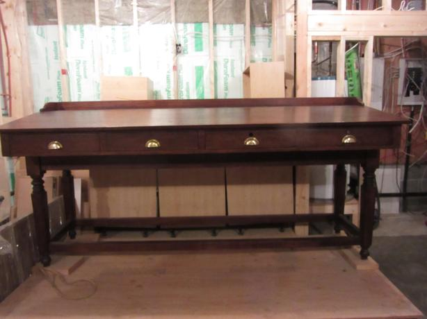 Antique Architects Drafting Bench