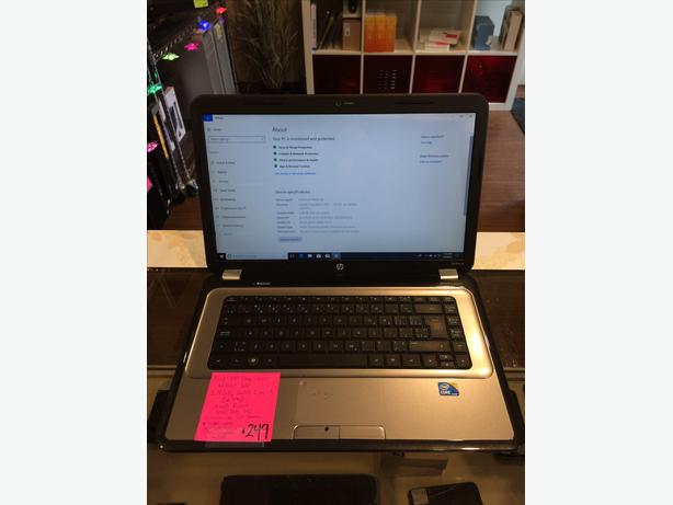"15.6"" HP Pavilion Laptop 2.4 GHz 4 GB RAM 640 GB HD w/ Warranty!"