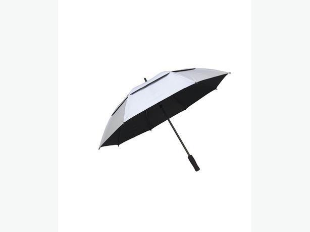 RainStoppers golf umbrellas silver/black