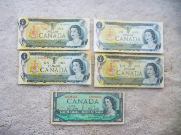 5 Low or  interesting serial numbers