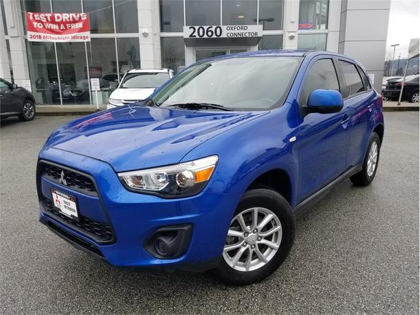 2015 Mitsubishi RVR ES WITH HEATED SEATS, 5 SPEED MANUAL