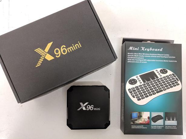 x96 mini Android Smart TV Box w/ Wireless Keyboard *Brand New*