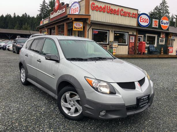 2004 Pontiac Vibe - Air Conditioning, Alloy Wheels & Only 179,000 KM!