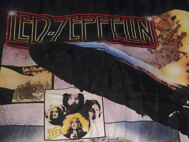 Led Zeppelin cloth poster