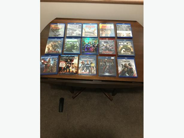 Blu-rays and DVDs TV box sets