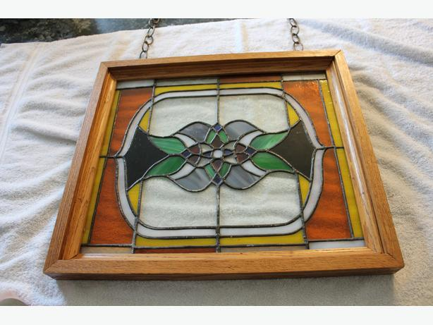 Stain Glass Window Hanger