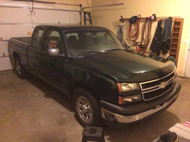 2007 Chev 1500 Ext Cab 2WD