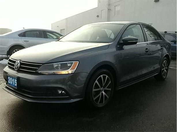 2015 Volkswagen Jetta 2.0 Comfortline TDI LOW KMS! Clean car !
