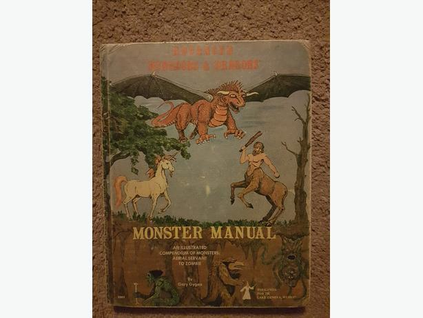 Advanced Dungeons & Dragons: Monster Manual, 3rd Edition (1978)