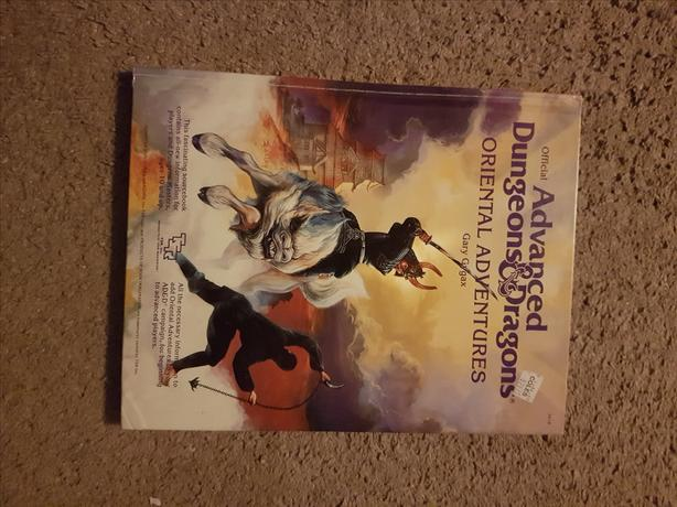 Advanced Dungeons & Dragons: Oriental Adventures (1992 Hardcover)
