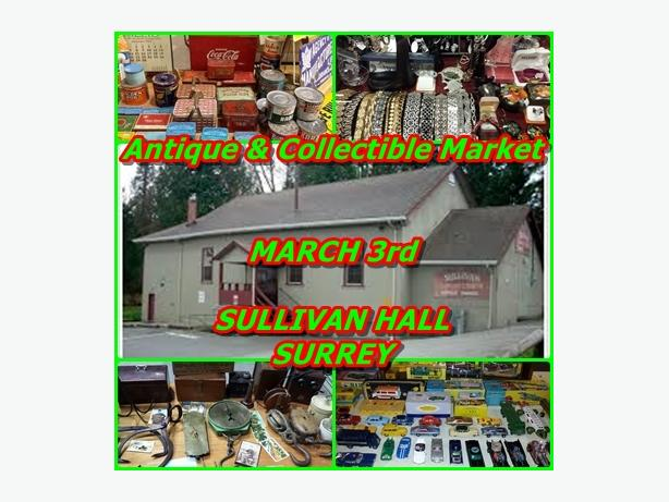 Antique and Collectable Market March 3rd