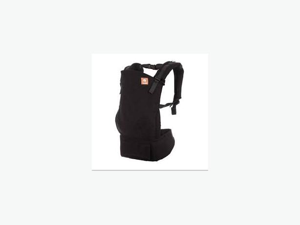 Baby Tula Carrier with Infant Insert - Black