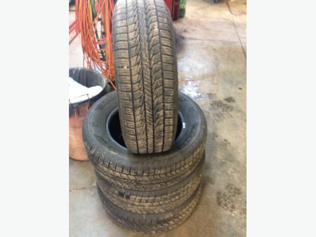 215/65R16 All season tires