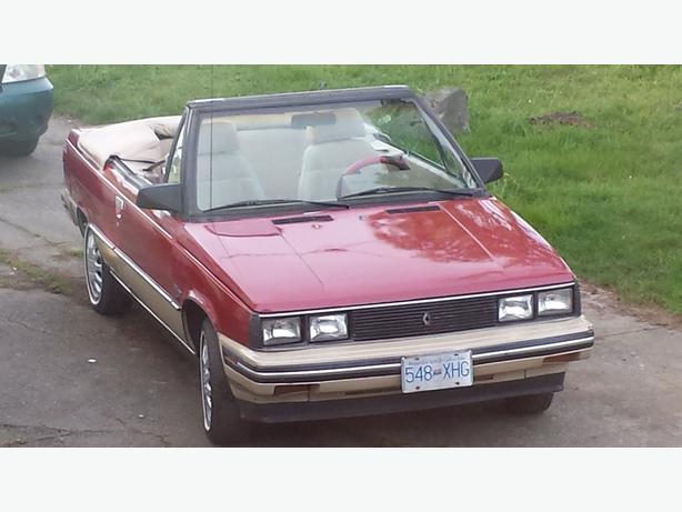 1985 Renault Convertible