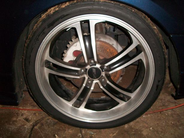 """20 """" Ford Mustang Rims and Tires"""