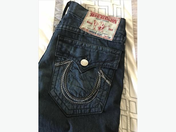 True Religion Rainbow Ricky Jeans