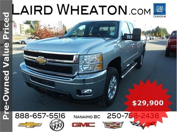 2011 Chevrolet Silverado 2500HD LTZ 4x4, Leather