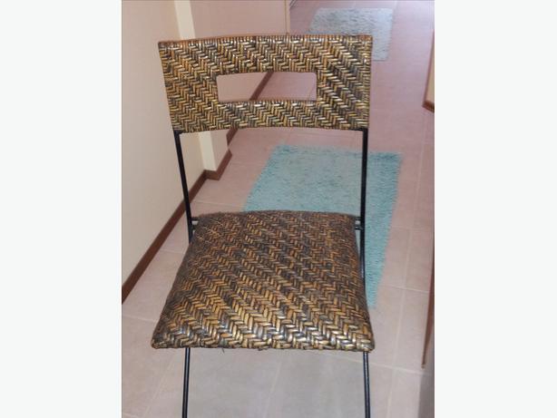 Pier 1 folding Wicker Chair
