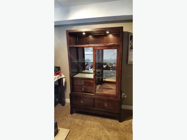 Stunning Wood Cabinet
