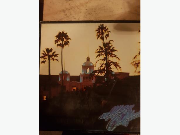 Eagles - Hotel California on Vinyl